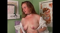 sexpartytv - Super sexy old spunker imagines you are fucking her juicy cunt