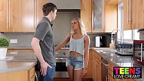 xnxx sex: TEEN ALLIE NICOLE SHOWS HER STEPBROTHER HOW TO CREAMPIE thumbnail