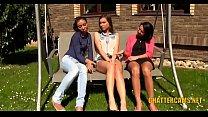 Lesbian Babes Outdoors Threesome Golden Shower Fetish pornhub video