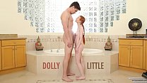 ABUSE ME - Redhead Teen Dolly Little Gets Ravag... Thumbnail