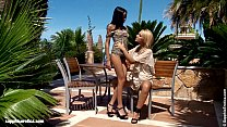 Wild Seduction with Natie and Angelina having o...
