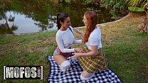 Share My BF - (Arietta Adams, Katana Kombat) - The Great Outdoor Threesome - MOFOS thumbnail