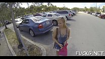 Picked up chick banged on spycam thumbnail