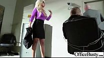 (bridgette b) Busty Hot Girl Hardcore Bang In Office movie-13