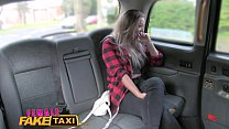 Female Fake Taxi Big tits lesbians love the pussy