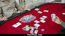 8611 TeenPies - Poker Players Run Train On Teen Slut preview