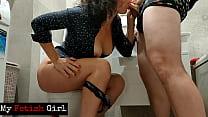 Slut Stepmom Sucked Step Son's Cock Right In To