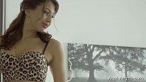Anal-Angels.com -Jordan - Luxury Leopard Lingerie Thumbnail
