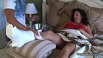 Margo Sullivan - Mom breaks her foot - download porn videos