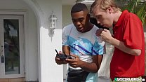 Young Black Guy Fucks Big Boobs MILF
