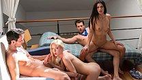 VIP SEX VAULT - Intense foursome with hotties Alexa Tomas and Sicilia video