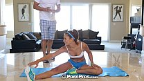 HD PornPros -  Ariana Marie has her sore pussy massaged after her workout - 9Club.Top