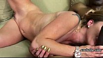 Cougar Pounce On Black Dick