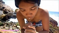 HD Heather Deep public outdoor deepthroat cum s...'s Thumb