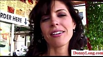Donny Long gives big pussy milf a big creampie and big cock preview image