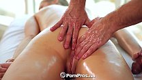 PornPros - Butt massage and hot fuck for Allie Rae