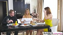 Babes - Step Mom Lessons - Anything Goes  starring  Alexis Crystal and Eva Berger clip