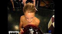 Magdalena and horny friends huge Cum Fiesta - German Goo Girls
