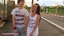 teen sensation - young girl and young boy in love