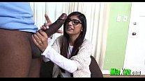6142 Mia Khalifa Enjoys Sucking a Big Black Cock preview