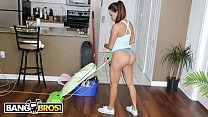 BANGBROS - Busty Latin Maid Julianna Vega Sucks...