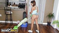 BANGBROS - Busty Latin Maid Julianna Vega Sucks And Fucks For Cash pornhub video