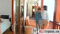 India Summer and Eva Lovia threesome sex thumbnail