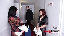 Monster Cock Threesome with Spa Bitches Valentina Ricci & Kathy Fuckdoll GP067