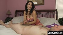Big tit MILF Charlee Chase HJ While Hubby Is Away! pornhub video