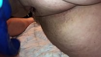 Chubby Girl squirting on small dick