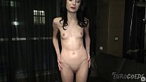 tiny brunette spinner kate sottile doing her first ever nude video preview image