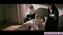Innocent hot nuns cant resist their lesbian temptation