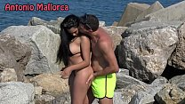 OMG she sucks my COCK ON THE BEACH (Antonio Mal... thumb