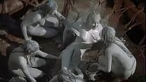 Tarzan Paint Scene