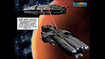 3D Comic: Galacticus 4