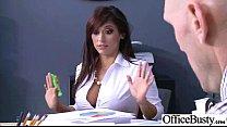 Sex Tape In Office With Slut Nasty Big Melon Ti...