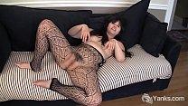 Yanks Asian Hermine Haller Toys Her Bushy Snatch