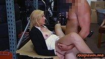 Blondie milf railed by nasty pawn dude
