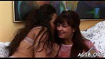 Lesbian babes like using sex toys's Thumb