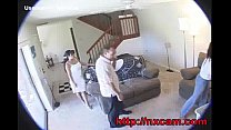 Maid and Wife Captured Having Lesbian Sex on Hidden Cam thumbnail