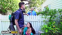 BANGBROS - Horny Priya Price Fucks The Gardener Behind Her Husband's Back! Preview