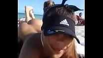 Claudia Smith on Miami Beach