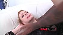 Amber Cute classic 3on1 LP anal treatment (DP & gapes) SZ554 thumbnail
