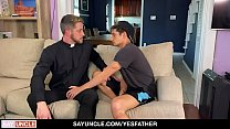 YesFather - Young Catholic Boy Confess Through Sex