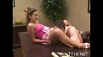 Beautiful young playgirl spreads wide for her teacher's rod pornhub video