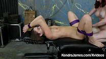 12623 Red Dom Kendra James Makes Bound Slave Kendra Heart Cum! preview