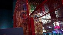 Pov teen blows in arcade toilet thumbnail