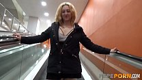 Exhibitionist couple has a fucking-spree in the mall thumbnail