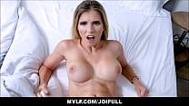 Horny Blonde MILF Step Mom Cory Chase Simulation Fucking You Her Step Son JOI POV Thumbnail
