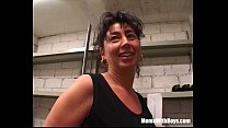 Busty Mature Lady Fucked In The Storage Room - 9Club.Top